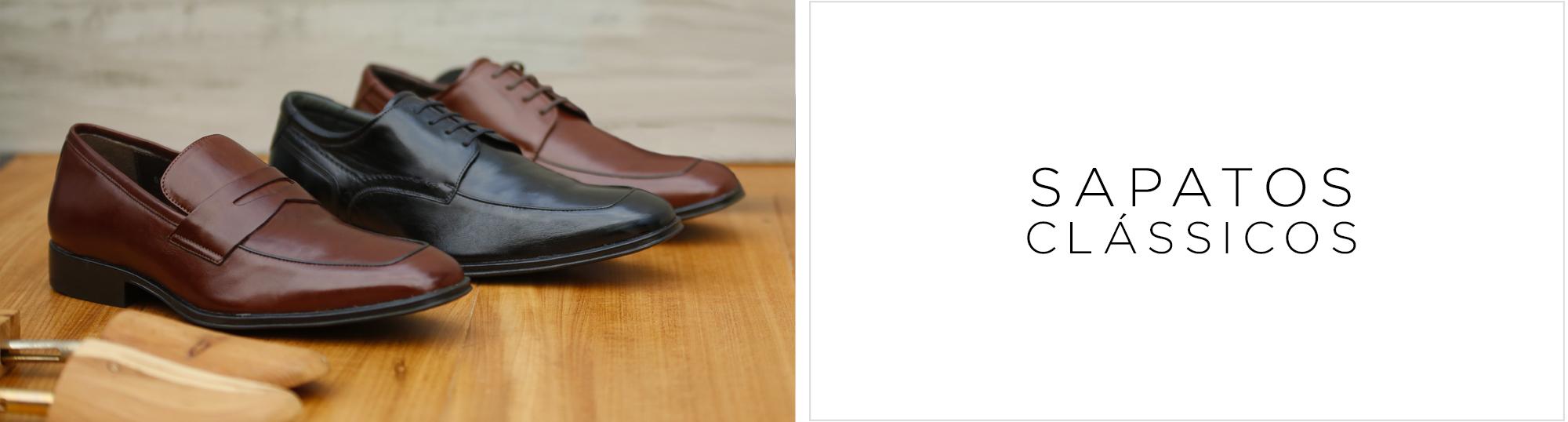Banner -Men Sapatos Classicos