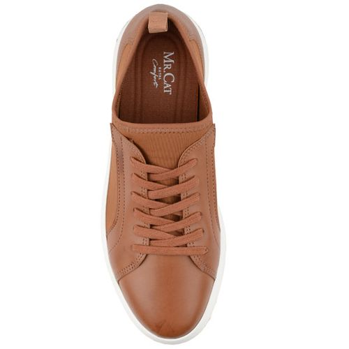 3636acde073 Tênis Cadarço Lycra Alternativo royal Comfort Tan